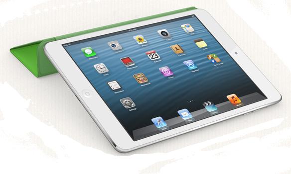 Новый белоснежный iPad mini