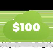 Облачные аккаунты с кредитом $100