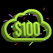 Пополнение аккаунта на $100