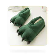 Безразмерные тапочки-лапки от магазина Shopogolik Dream