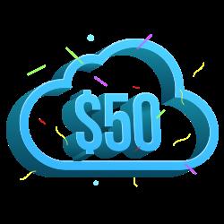 Облачные аккаунты наNIC.UA с кредитом $50