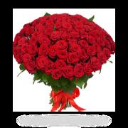 Букет із 101 червоної троянди від Flowers.ua